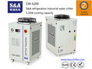 S&A chiller CW-6200 with single pump & dual temperature for fiberlaser