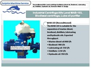 Alfa Laval industrial centrifuge,  waste oil Separators,  engine